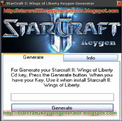 Wings of Liberty Keygen Generator