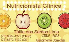 Tátila Nutricionista Clínica