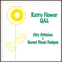 Retro Flowers QAL