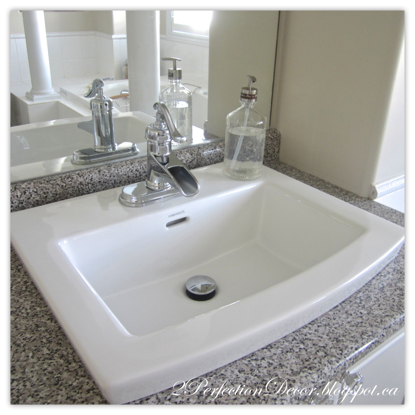 2perfection Decor Updating Old Bathroom Sinks While Re Using