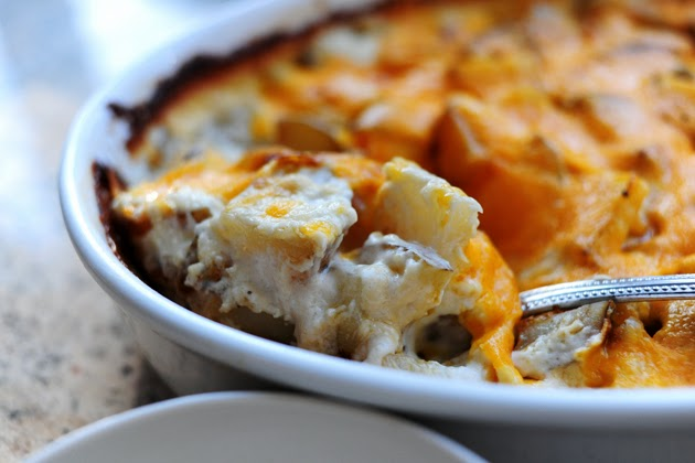 Gina's Italian Kitchen: Potatoes au Gratin from The Pioneer Woman