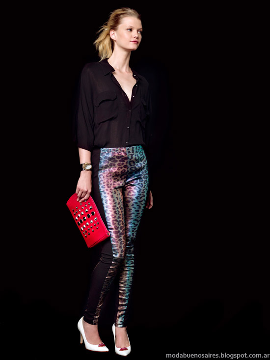 Jazmín Chebar primavera verano 2014 moda.