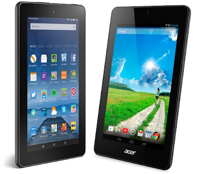 Nuevo Amazon Fire vs Acer Iconia One 7 B1-730HD
