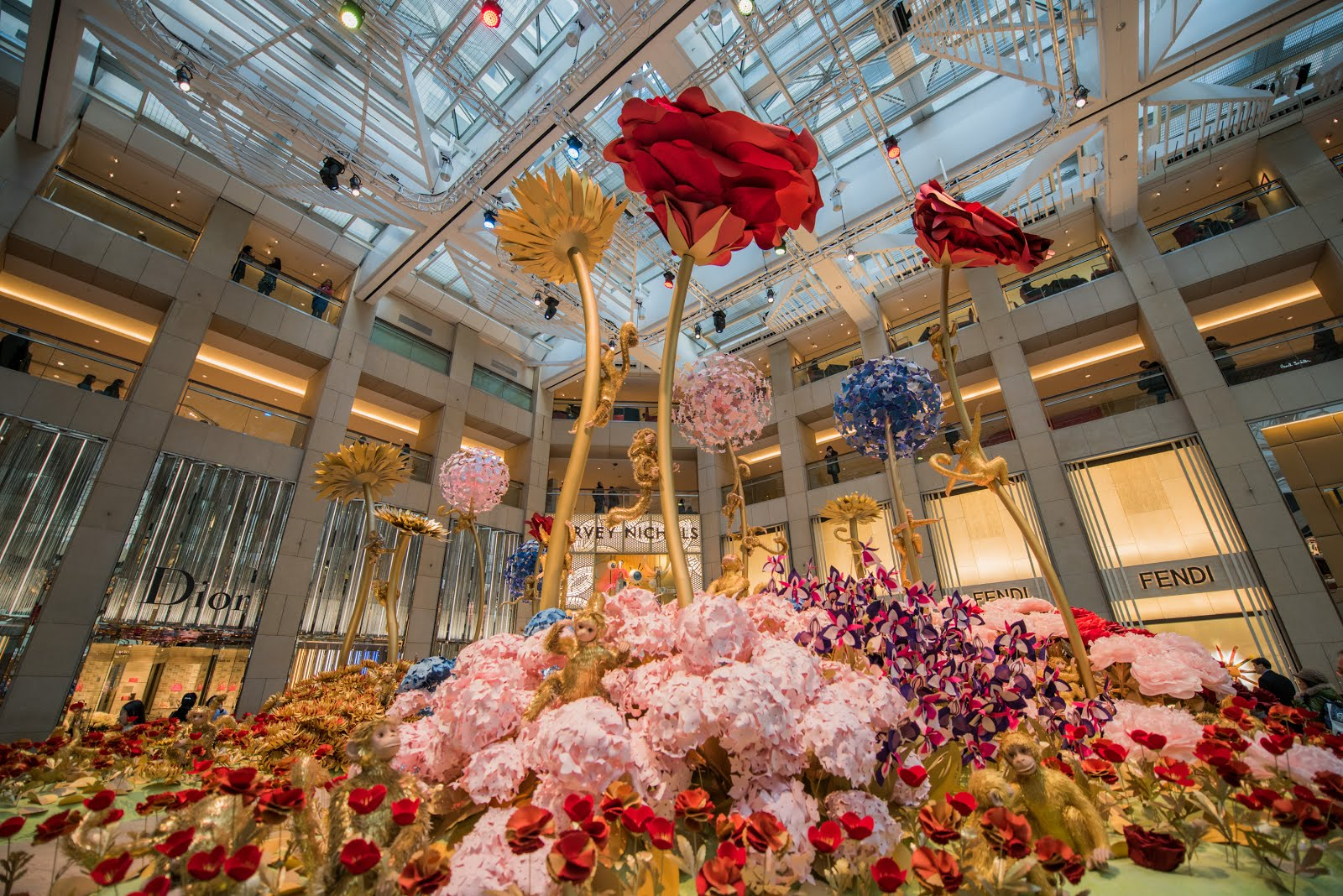 LANDMARK blossoms with floral fantasia for Year of the Monkey ...
