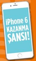 iphone 6 kazanma şansı