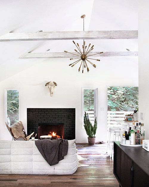 Cheap Easy Black Fireplace DIY