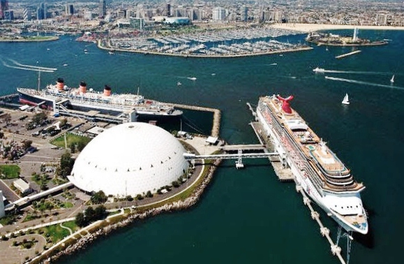 Carnival Cruise Line Long Beach Pictures  Punchaoscom