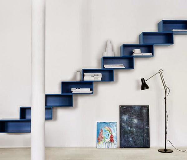 Creative Furniture Ideas Shelf Hidden