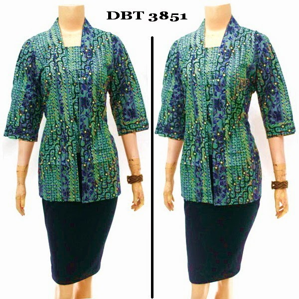 Baju Batik Blouse Murah