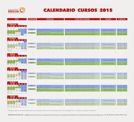 CALENDARI CURSOS 2015