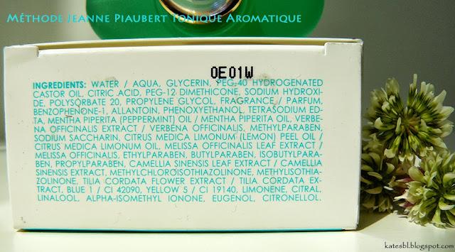 Méthode Jeanne Piaubert Tonique Aromatique состав