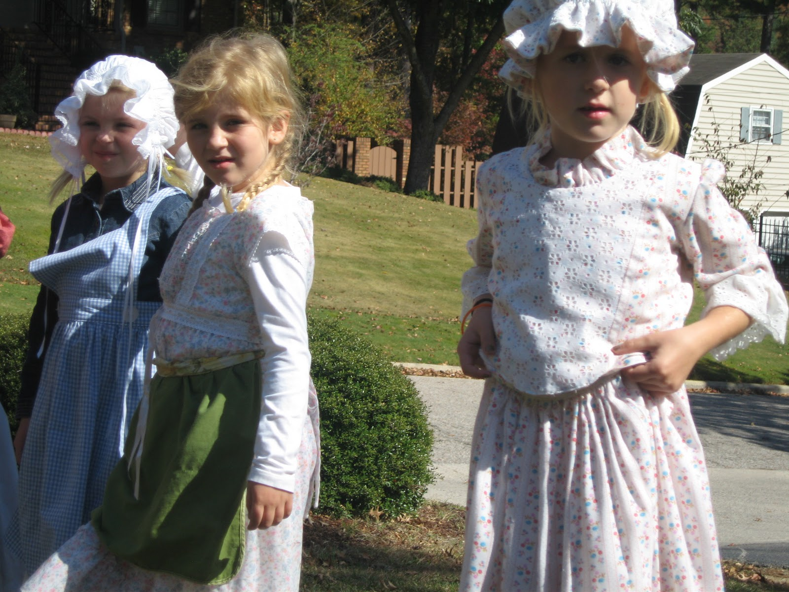 Clothing for Pioneer children