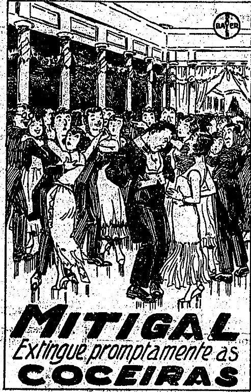 Propaganda do Mitigal para combater a coceira em 1932