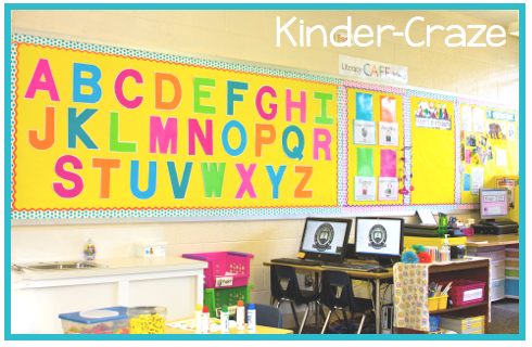 kindergarten alphabet bulletin board