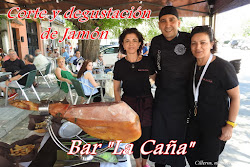 """CORTE DE JAMÓN """"BAR LA CAÑA"""""""