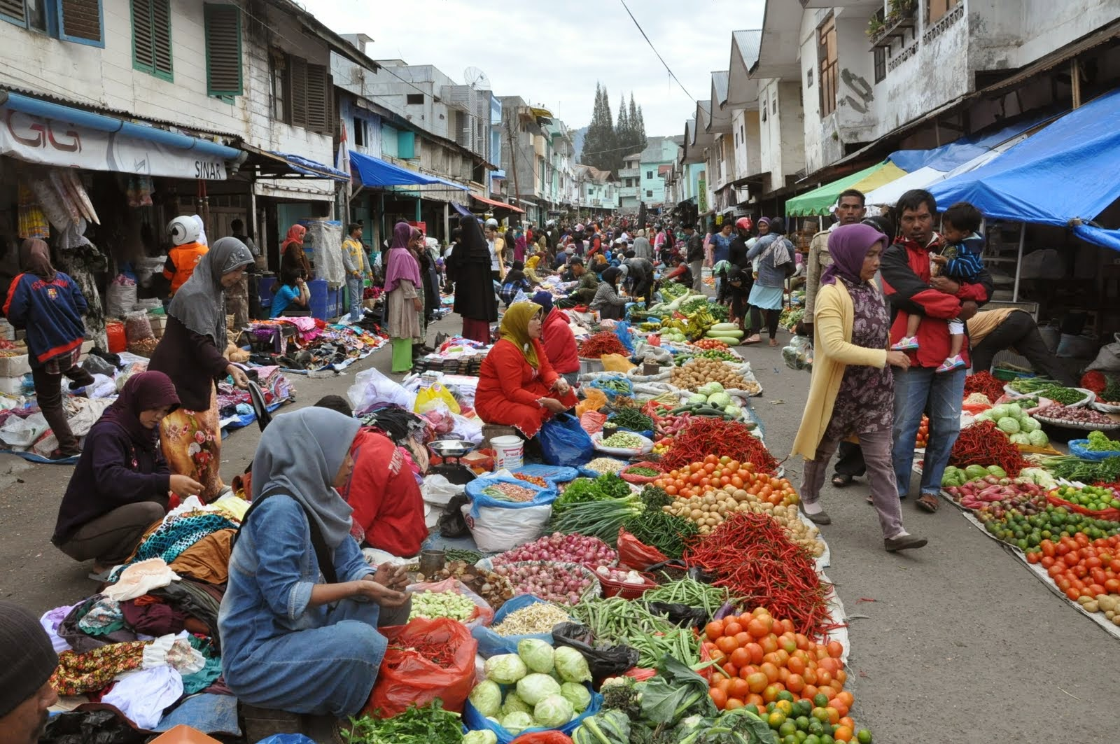 Takengon Indonesia  city images : The Olive Journey: Takengon Morning Market Takengon, Aceh, Indonesia