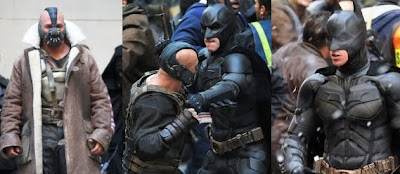 Coulisses du film The Dark Knight Rises - Film Batman 3