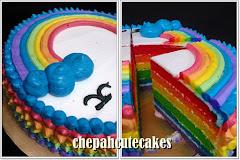 Cake: Butter Rainbow