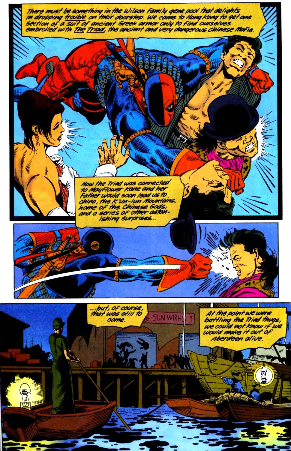 Deathstroke (1991) Issue #29 #34 - English 15
