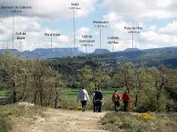 Panoràmica de Cabrera des de molt a prop d'El Pendís