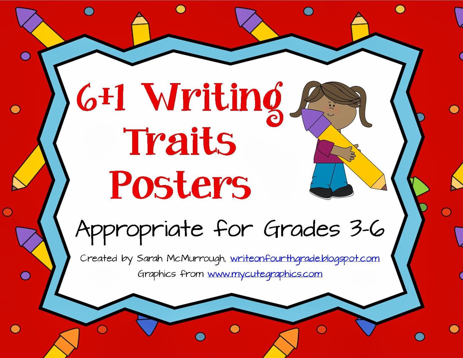 6 traits writing