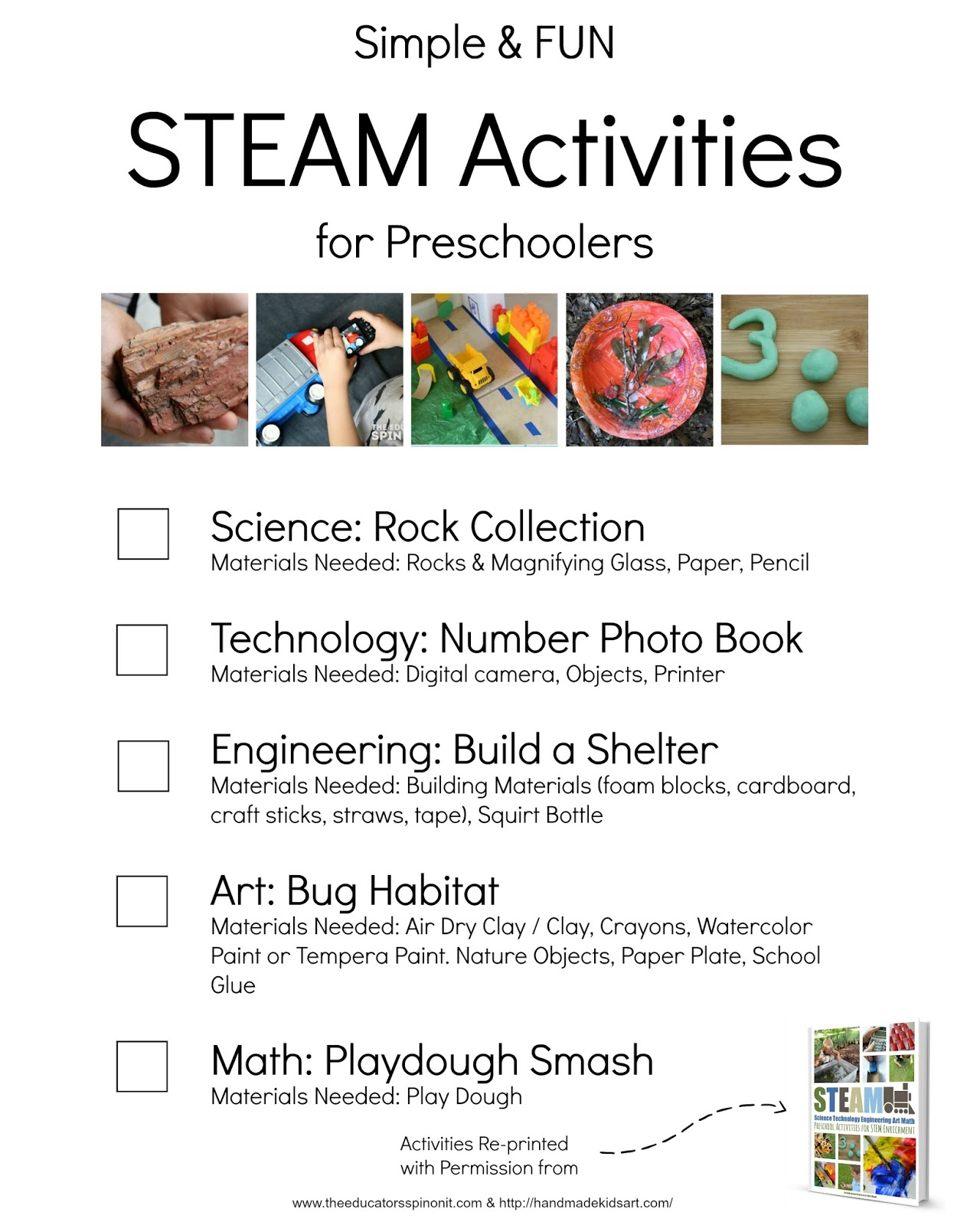 Simple and Fun STEAM activities for preschooler | STEM Activities for kids