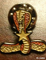 Thomas Q Kimball of Ridgefield, Connecticut presented the coveted COBRA pin