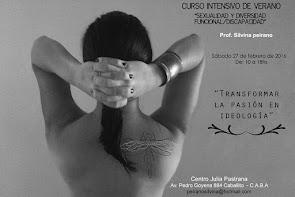 """Curso intensivo de verano """"Sexualidad y diversidad funcional/discapacidad""""."""