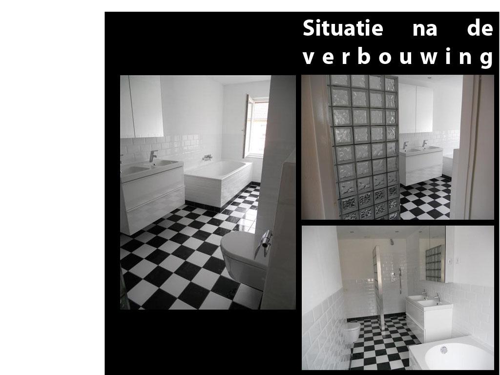 Badkamer Zonder Raam Verluchten: Badkamer met raam mm gezandstraald ...