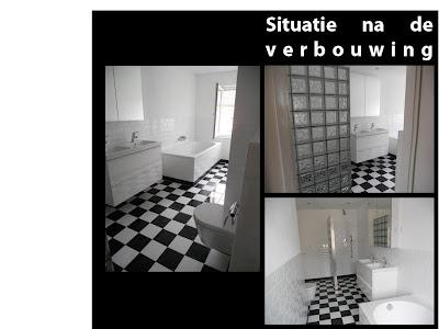 Home sweet home badkamer verbouwing for Badkamer tekening maken