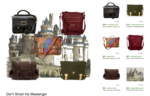 polyvore messenger bags inspiration board