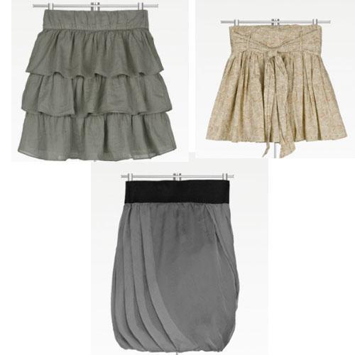 Las faldas en capas esta muy de moda son muy sexis y elegantes de ...