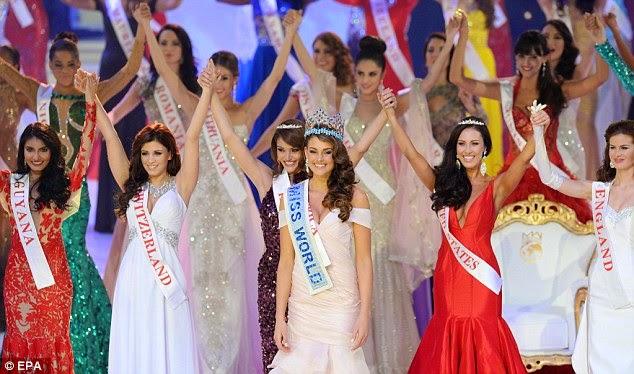 Kontes BIKINI di Ajang Miss World 2015