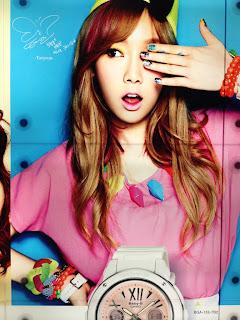 SNSD Taeyeon Casio Baby G Singapore