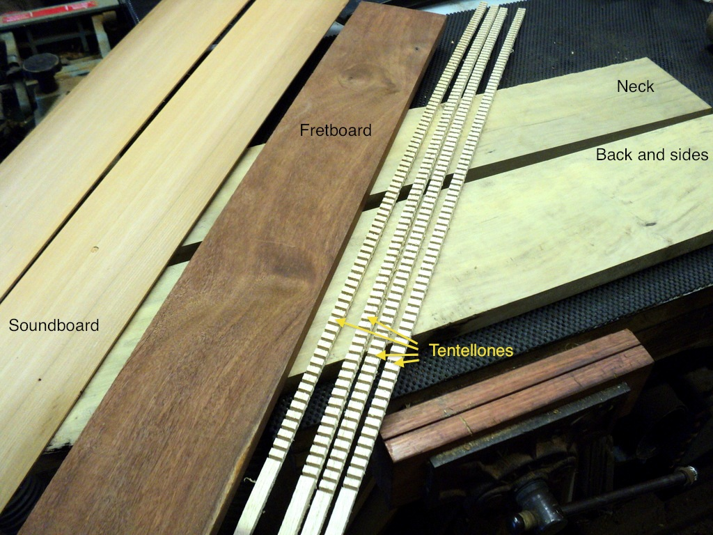 The Village Woodworker Building A Ukulele Part 1 Timber Selection Amp Layout