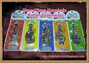 MamaTisya Keychain Sabah Giveaway