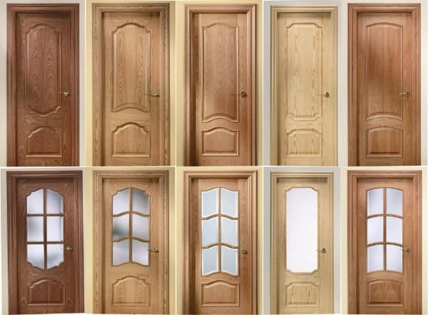 Muebles y carpinteria capita puertas de paso for Puertas de madera para dormitorios