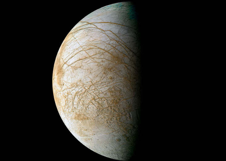 Suburban spaceman: NASA Mission to Jupiter's Moon Europa