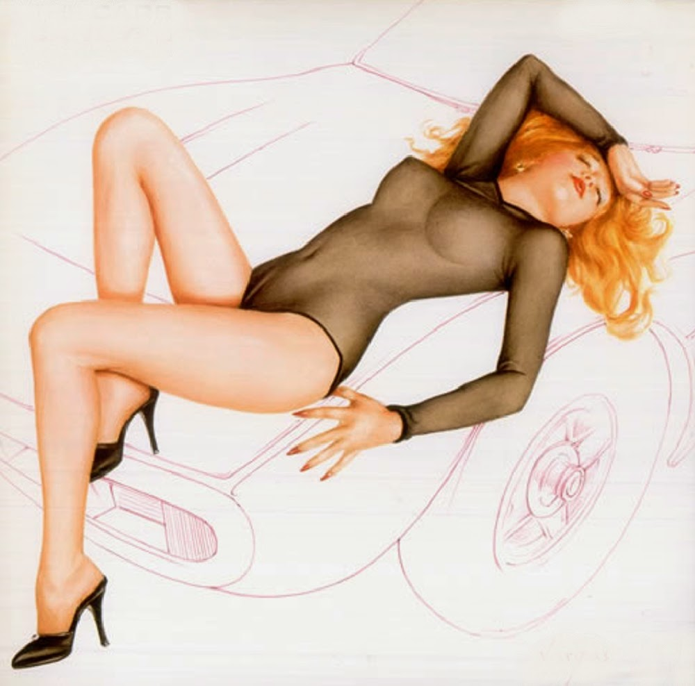 The Cars: Candy-O. Alberto Vargas