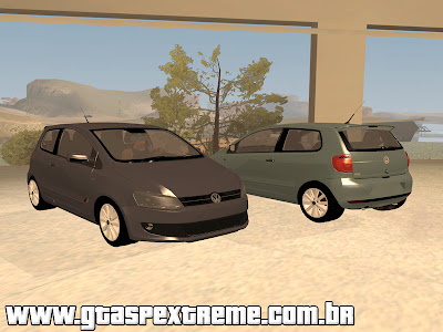 Vw Fox 2013 para GTA San Andreas