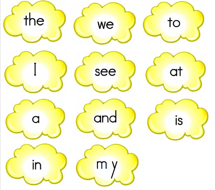 Kindergarten news popcorn words pop this week we will be sending home a booklet of high frequency words printed on a popcorn design we encourage families to use the props to help their pronofoot35fo Image collections