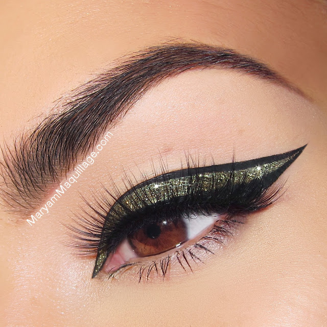 maryam maquillage glitter border liner for the holidays. Black Bedroom Furniture Sets. Home Design Ideas