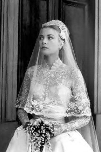 Royal wedding gowns from past to present the white room Grace kelly wedding dress design