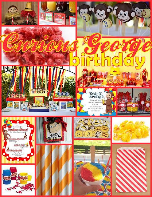 Greygrey Designs Inspiration Board Curious George