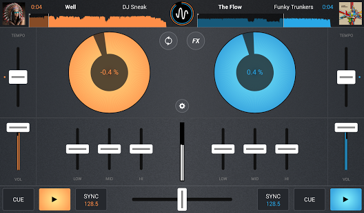 Cross DJ - Mix your music APK Android  v1.2.2