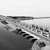 De Nieuwe Afsluitdijk staat stil bij stormvloed rond Zuiderzee