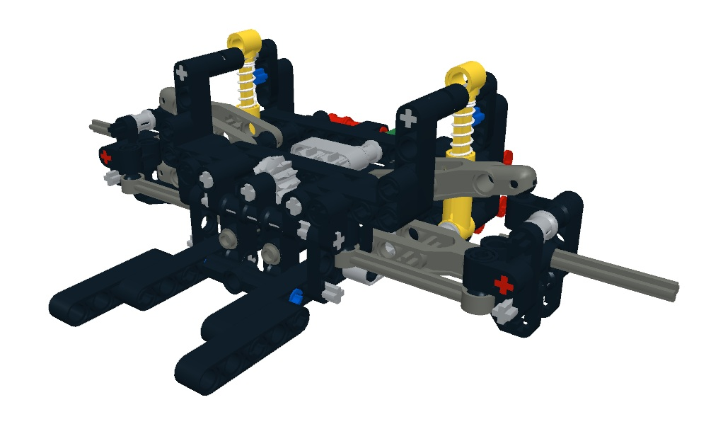 lego steering system instructions