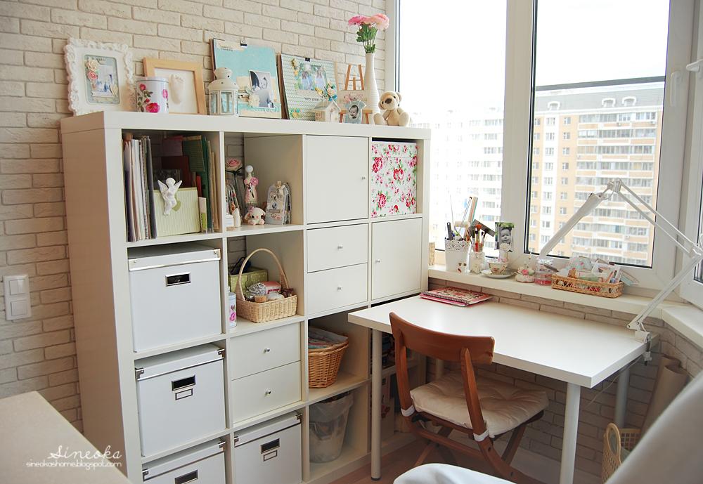 Кабинет на балконе: рабочее место или кабинет на лоджии.