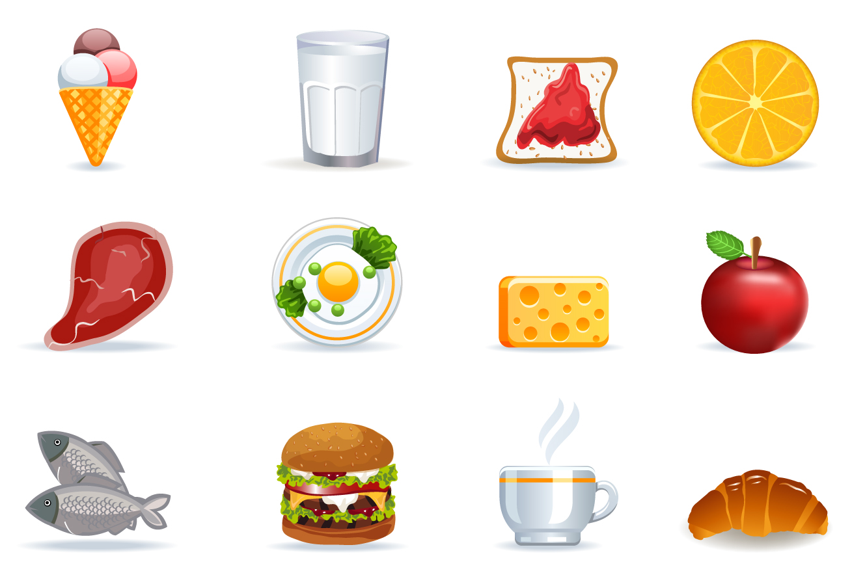 美味しい食べ物シンボル アイコン healthy eating symbol computer icon イラスト素材