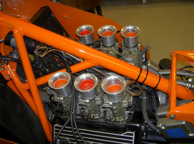 Laverda V6 Motorcycle Engine